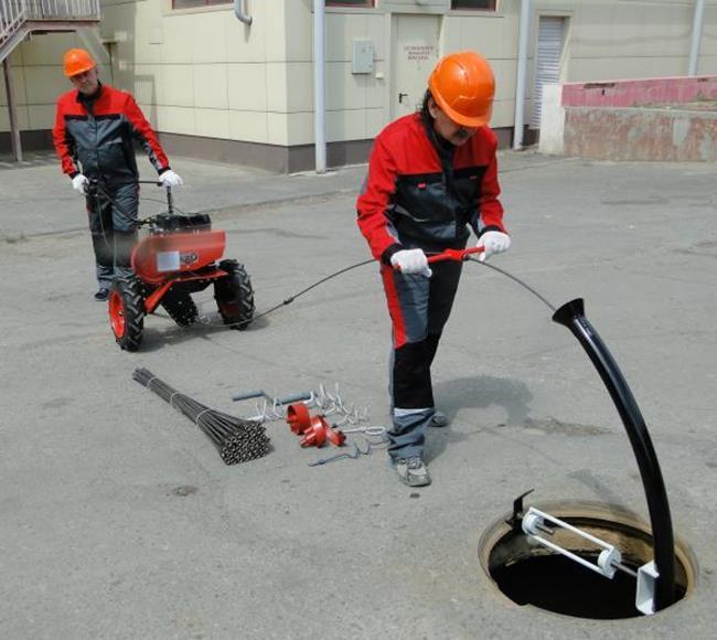 Плановая промывка внутренней канализации